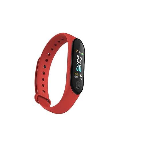 M3 Pulsera elegante Bluetooth Rastreador de fitness IP67 a prueba de agua con monitor de frecuencia
