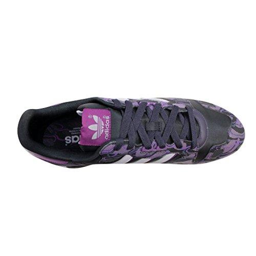 ... Adidas Velg Menns Zx 800 Ld Grafisk Sneaker Svart / Hvit / Lilla ...