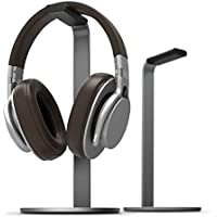elago H Stand [Dark Gray] - [Premium Aluminum][Scratch-Free Padding][Perfect Height] - for all size Gaming and Audio Headphones