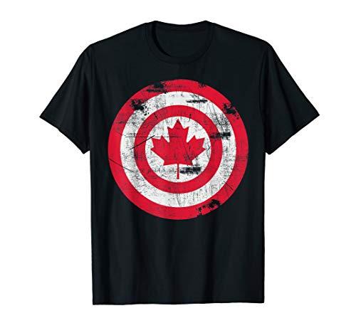 Captain Canada Flag T-Shirt