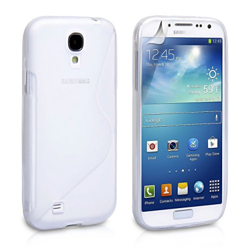 Phone Cases for Samsung Galaxy S4, Samsung Galaxy S4 Case [White] Rugged Drop Impact Resistant Skin IV i9500 Tough Strong Protective Soft Jelly Shell Cover Skin Cases by Cable and Case?