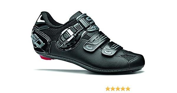 Zapatillas de ciclismo para mujer Genius 7 Shadow Road, negro (Negro), 40.5 M EU: Amazon.es: Zapatos y complementos