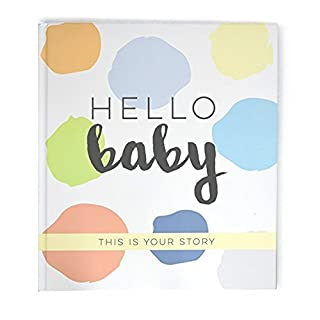 Bobee Baby Journal Memory Book, Memories Made Simple, an Adorable Keepsake Helping Busy Parents Document Important milestones