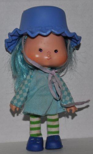 Vintage Kenner Strawberry Shortcake Blueberry Muffin Doll with Comb (Strawberry Shortcake Hat)