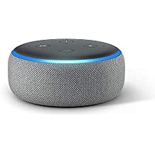 All-new Echo Dot (3rd Gen) - Smart speaker with Alexa - Heather Gray