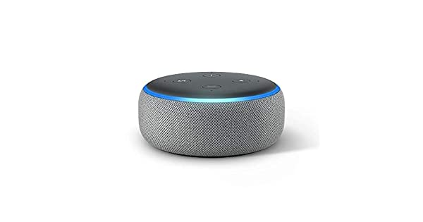 Amazon.com: Echo Dot (3ª Gen) - Altavoz inteligente con ...