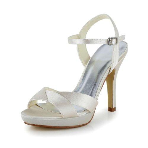 Wedding Donna 37060 Col Sposa Sekt Tacco Jia Scarpe U7pdPUq