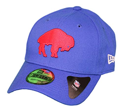 New Era The League NFL 9Forty Alternate Colors Adjustable Hat (Buffalo Bills Retro ()