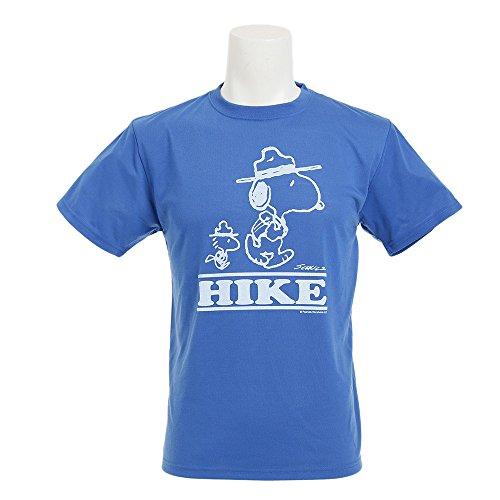 ピジン根絶する合計ワイルドシングス(ワイルドシングス) PEANUTS HIKE BLU メンズ 半袖 Tシャツ PE04001 BLU