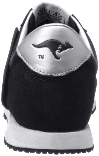 Negro Normal hombre cuero Zapatillas de 71490 aus Kangaroos negro talla para color Fällt PaS7HqnX