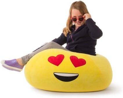 GoMoji Durable Polyester Fabric Ergonomic Seating Position Bean Bag Chair
