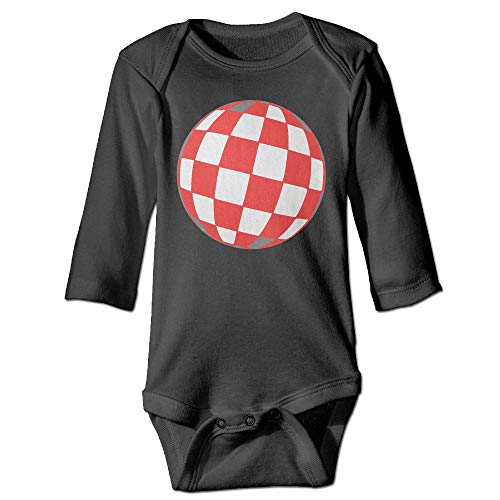 (Infant Baby Boy Girl Checkered Ball Romper Playsuit Outfit)