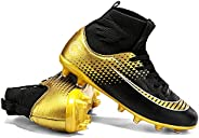 PKQIU Soccer Shoes Football Shoes Sports Shoes Studded Football Boots Outdoor/Indoor/Game/Training