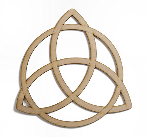 Trinity Knot Celtic Wooden 12