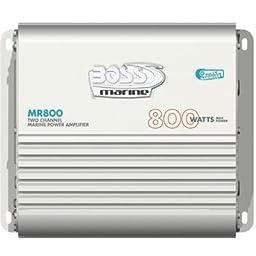 Boss Mr800 800w 2 Ch Marine Rated Amplifier Amp 2 Channel 800 Watt