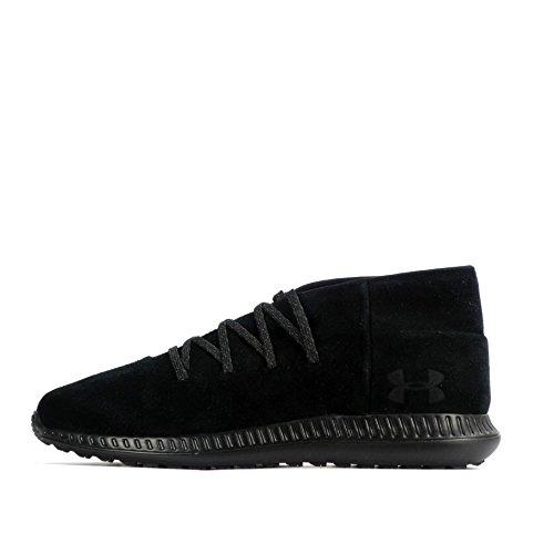 Under Armour - Zapatillas de Material Sintético para hombre blanco black 002 42 EU black black black 001