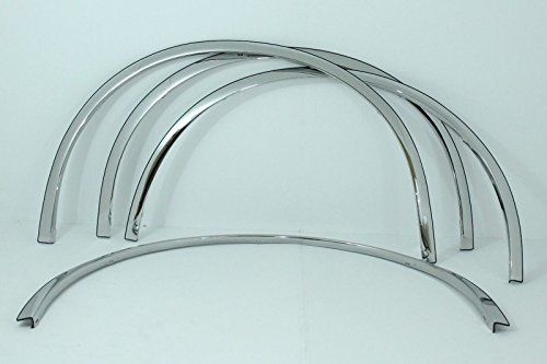 Carrichs   2000-2010 Cadillac DeVille / DTS Polished Stainless Steel Fender Trim