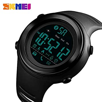 Msxx Real Smart Sports Relojes, podómetros, calorías, Luminoso, kilometraje, Bluetooth,