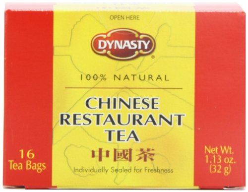 Dynasty Thé, Style Reste chinois, 16-Count Forfaits (Pack de 12)