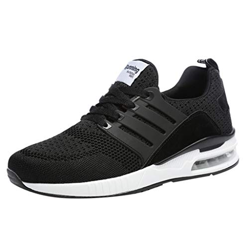Fashion Men's Mesh Breathable Sneakers Casual Shoes Student Running Shoes