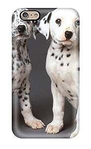 Hot Tpu Cover Case For Iphone/ 6 Case Cover Skin - Dalmatian