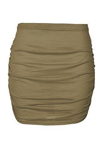 Mini Taille c Grande t Uni Femme Jupe Femme Kaki Outlet gerschte Taille EU Oops Vert sur le Extensible 36C50 Bodycon lastique wqaEBCxxA