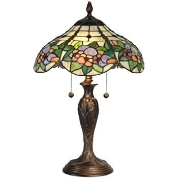 Dale tiffany tt90179 chicago table lamp antique bronze and art dale tiffany tt90179 chicago table lamp antique bronze and art glass shade aloadofball Gallery
