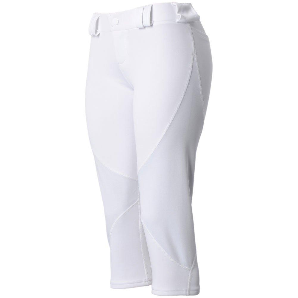 (3N2) 3N2 レディース ニューフィット 3/4丈 ニッカーズ パンツ ベルトループ付き B00NP5YVRK X-Large|ホワイト ホワイト X-Large