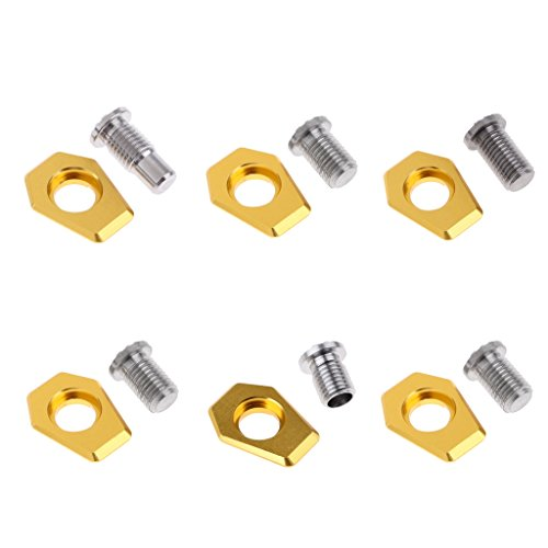 Prettyia 6Pcs Golf Shaft Weight with Screw for M2 Driver Clubs 2g 4g 6g 8g 10g 12g Adjust Weight by Prettyia