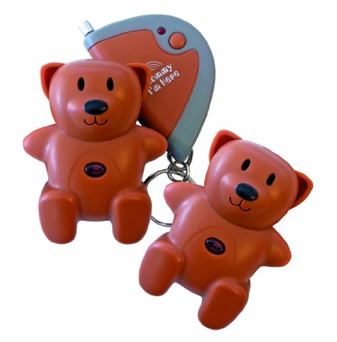 Mommy I'm Here CL-103BR2pak Teddy Bear Remote Child Locat...