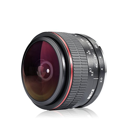 Meike 6.5mm Ultra Wide f/2.0 Fisheye Lens