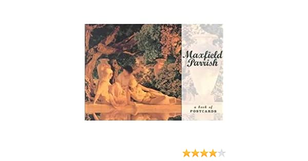 Postcard Book Maxfield Parrish