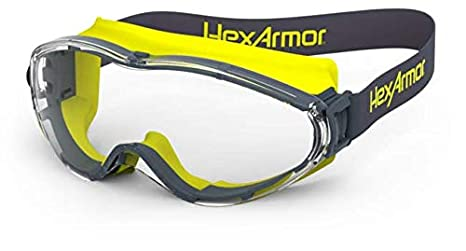 74d6db68a34f4 HexAmor LT300 Over Glasses Anti Fog Safety Goggles - 12-10001-02