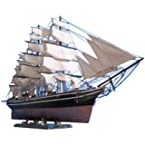 "Cutty Sark Limited 50"" - Wooden Clipper Ship Model - Famous Model Ship - Vintage Model Ship - Nautical Decoration - Sold Fully Assembled - Not a Model Ship Kit"