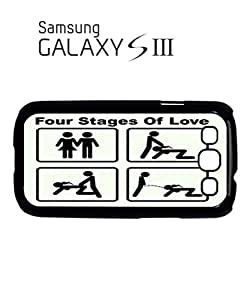 Four Stages of Love Mobile Cell Phone Case Samsung Galaxy S3 White