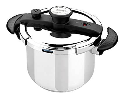 Amazon.com: Braisogona Monix Easy Stainless Steel Pressure Cooker ...