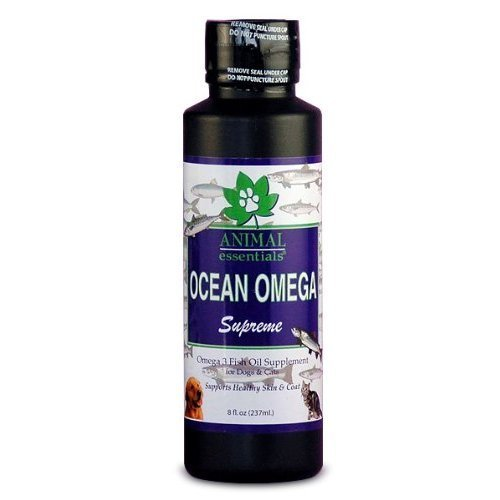 Animal Essentials NEW Ocean Omega Supreme, Fish Oil for Dogs and Cats, 16 Ounces, My Pet Supplies