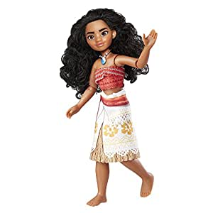 DISNEY Moana of Oceania Adventure Doll - Movie Inspired Outfit - Articulated Kids Toys - Ages 3+