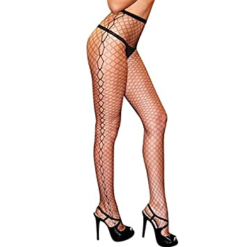 747e4bf636b Amazon.com  Hustler Diamond Net Jacquard Pantyhose -(Package Of 2 ...