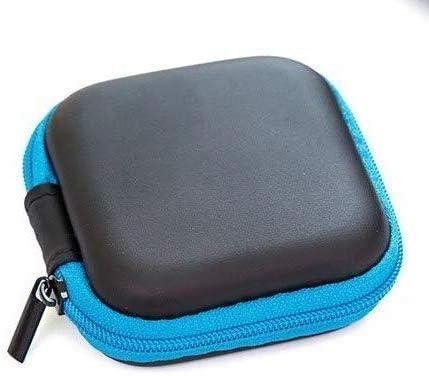 Waymeduo Carrying Hard Case Bag for Earphone Headphone iPod MP3