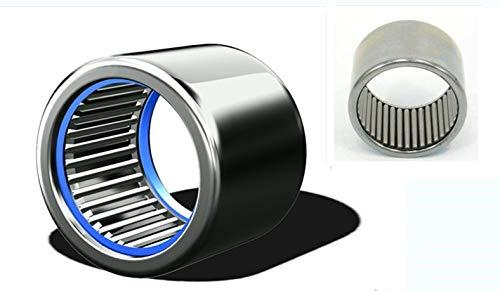 Ochoos HK2016-2RS or HK2016 2RS 20x26x16mm Drawn Cup Sealed Needle Roller Bearings 1 PCS