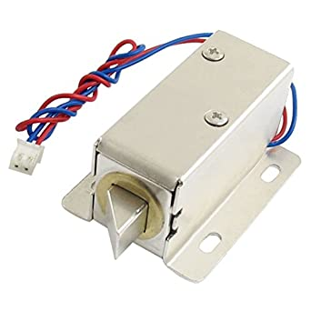 0837L DC 12V 8W Open Frame Type Solenoid for Electric Door Lock  sc 1 st  Amazon.com & 0837L DC 12V 8W Open Frame Type Solenoid for Electric Door Lock ...
