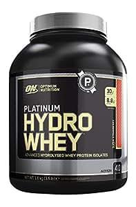 Optimum Nutrition Platinum HydroWhey Proteína, Fresa - 1600 gr
