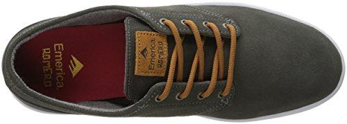 Adulto Emerica Marrone sportive Unisex 6102000082 scarpe Grigio UUwqaO5