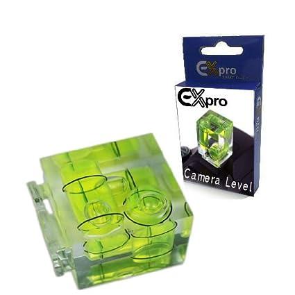 Ex-Pro 3D Nivel de Burbuja para cámara de Fotos de Zapata Caliente ...