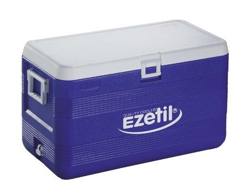 Ezetil Kuehlboxen  XXL 70, blau/weiss, 70,5 x 39,5 x 41 cm