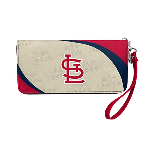 Littlearth MLB St. Louis Cardinals Womens Wallet Curve Organizer Stylest. Louis Cardinals Wallet Curve Organizer Style, Team Colors, One Size
