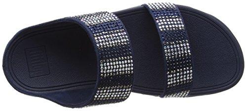 Navy Blu Aperta Punta Flare Fitflop 399 Strobe Donna Sandali midnight Sandals Slide nUwv8ZY