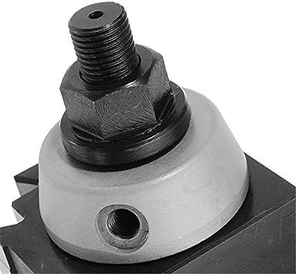 Machifit DMC-250-200 Piston Type Locking Tool Post Steel Quick Change Lathe Tool