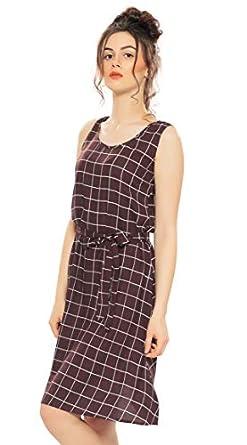 ZEYO Women's Rayon & Cotton Knee Length Night Gown